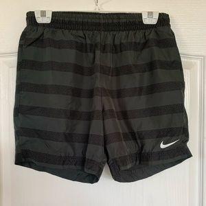 Nike running shorts with lining